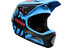 Fox Rampage Comp Downhill helm blauw